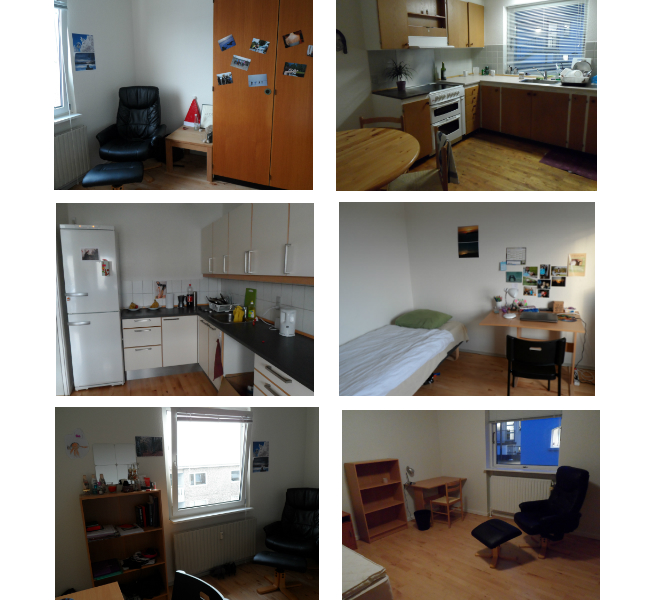 Sample photos of an accommodation