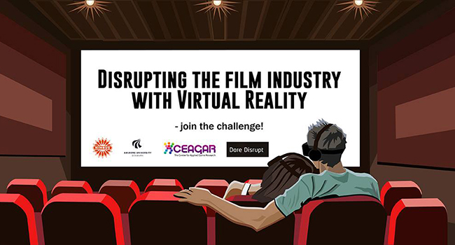 Disrupting the film industry with virtual reality - student challenge