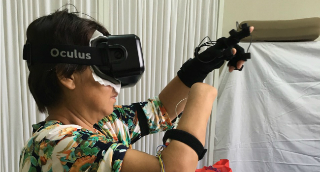 Virtual Reality Eases Phantom Limb Pain