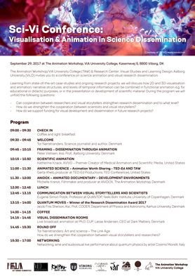 Sci-Vi Conference: Visualisation and Animation in Science Dissemination