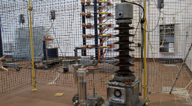 High voltage experiment