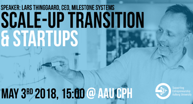 Scale-up transition & startups - CANCELLED