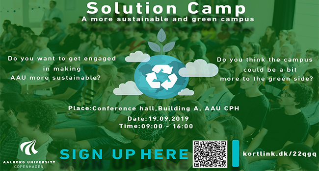 SOLUTION CAMP AT AAU CPH - A MORE SUSTAINABLE AND GREEN CAMPUS