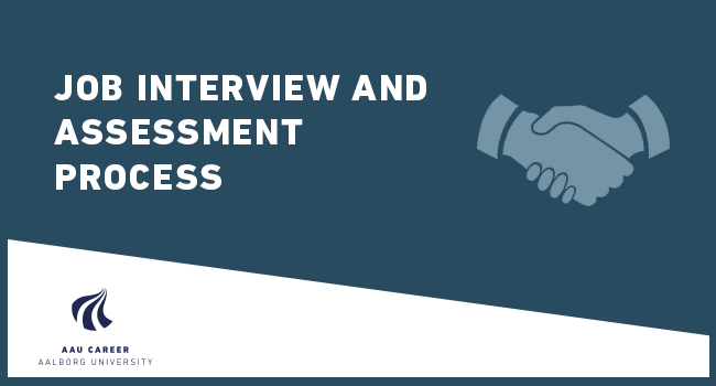 Job interview and assessment process (spring 2020)