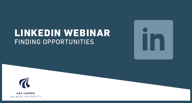 Webinar: LinkedIn - Finding opportunities (Spring 2020)