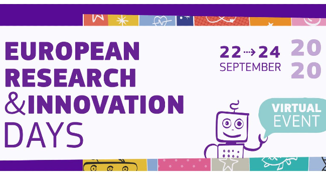 European Research and Innovation Days - Sign up for online dialogue