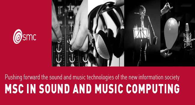 Sound and Music Computing, MSc in Engineering