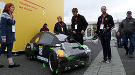 Exhibiting of ECO-racer